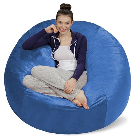 The Memory Foam Bean Bag Chair On Amazon