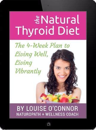 [pdf] The Natural Thyroid Diet By Louise O Connor Naturopath L .
