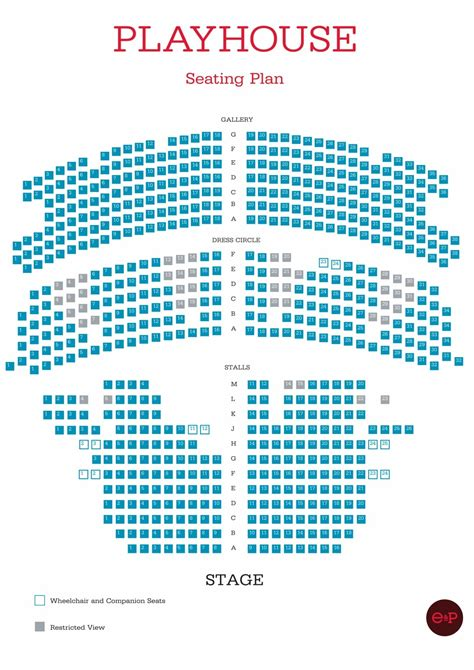 The Playhouse Liverpool Seating Plan
