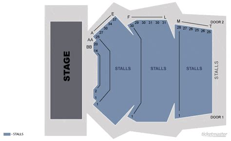 The Playhouse Melbourne Seating Plan