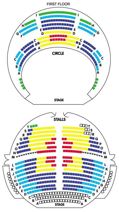 The Playhouse Nottingham Seating Plan