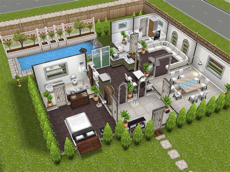 The Sims 3 House Plans Ideas