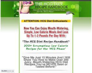 [click]the Hcg Diet Recipe Handbook 200 Mouth Watering Recipes Review. -1