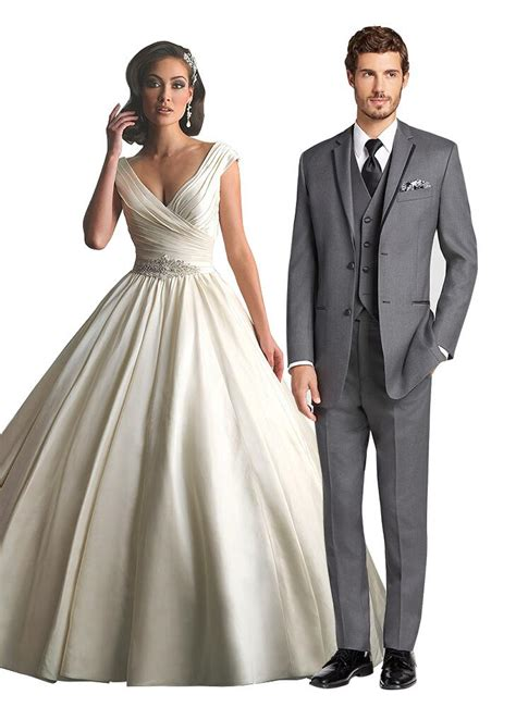The Very Best Wedding gown and Suit for the Perfect Wedding