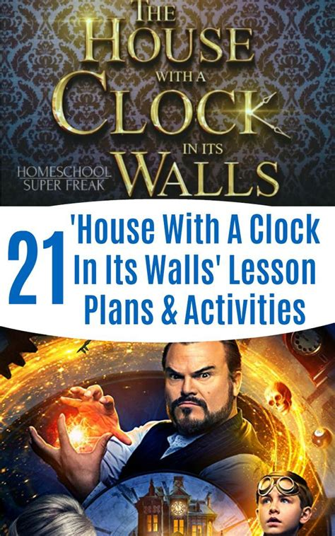 The-House-With-A-Clock-In-Its-Walls-Lesson-Plans