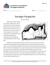 The-Night-The-Bed-Fell-Lesson-Plans