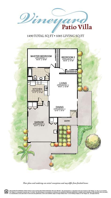 The-Villages-Patio-Villa-Floor-Plans