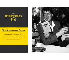 Best The drinking man s diet book