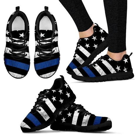 Thin Blue Line Nike Sneakers