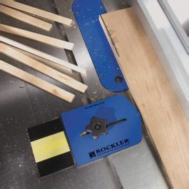 Thin Rip Table Saw Jig Shop Fox Tools