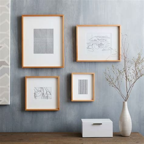 Thin Wood Frame Diy Glam