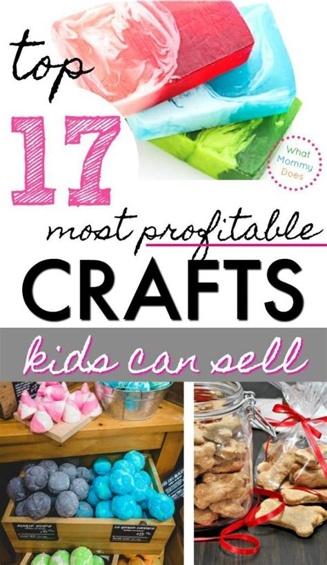 Things Kids Can Make And Sell