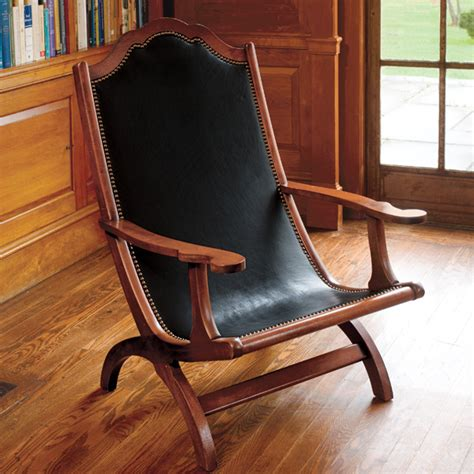 Thomas Jeffersons Campeche Chair Plans