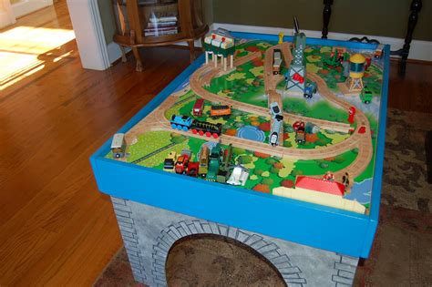 Thomas The Tank Engine Play Table Plans