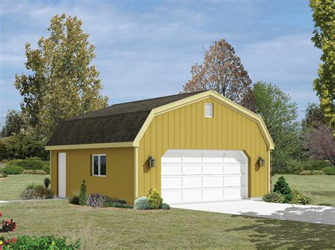Three Car Garage Plans Gambrel Style Roof
