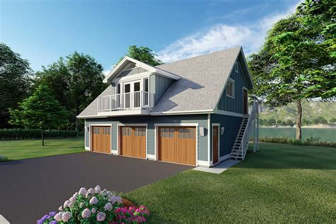 Three Car Garage Plans With Apartment On Top
