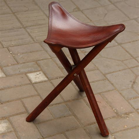 Three Legged Stool Sadel Leather Seat Plans