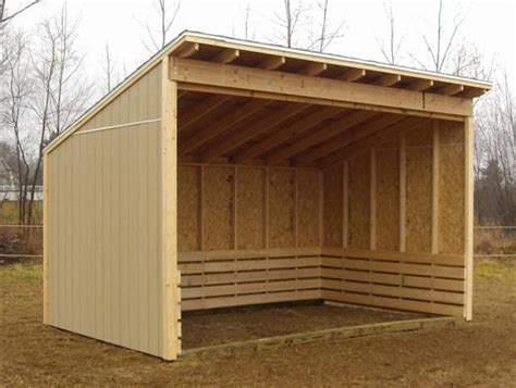 Three-Sided-Shed-Plans