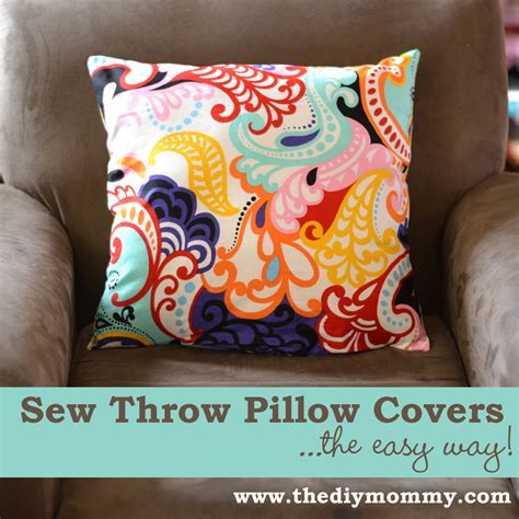 Throw Pillow Covers Sewing