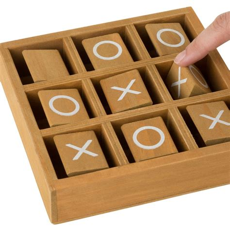 Tic Tac Toe Wooden Game Plans List