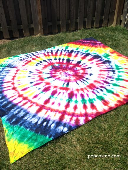 Tie Dye Bed Sheets Diy Christmas