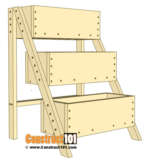 Tiered-Planter-Box-Plans-Free