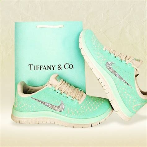 Tiffany Blue Nike Running Sneakers