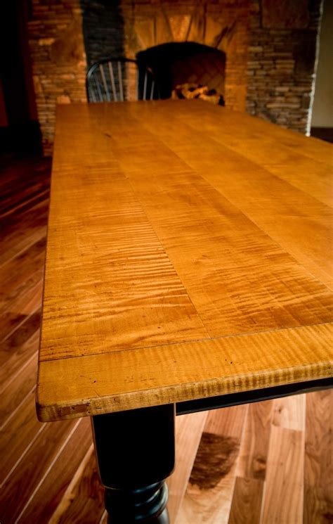 Tiger-Maple-Farmhouse-Table
