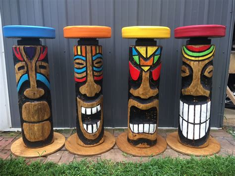 Tiki Bar Stools Diy