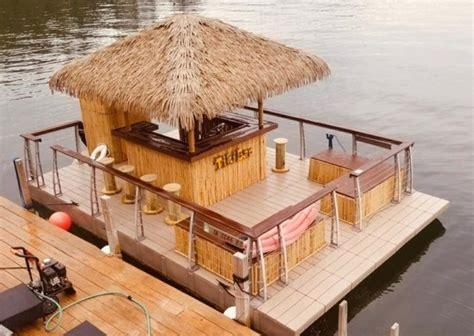 Tiki-Bar-Boat-Plans