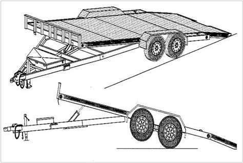 Tilt-Bed-Car-Hauler-Trailer-Plans