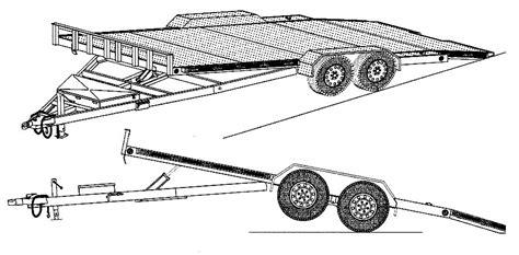 Tilt-Bed-Car-Trailer-Plans
