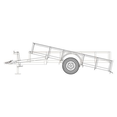 Tilt-Bed-Utility-Trailer-Plans