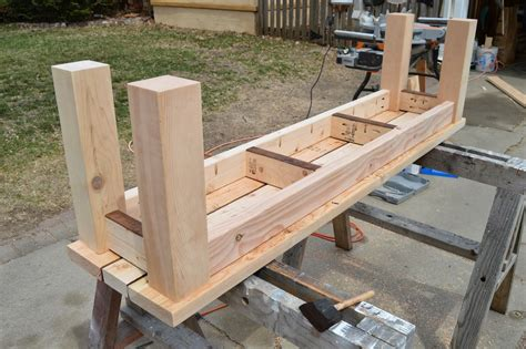 Timber Bench Seat Plans