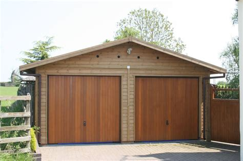 Timber Double Garage Plans