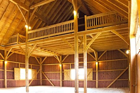 Timber Frame Barn Plans With Loft