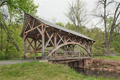 Timber Frame Bridge Plans