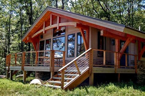 Timber Frame Cabin Plans For Sale