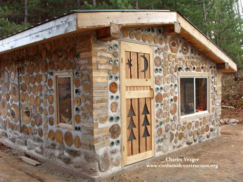 Timber Frame Cordwood House Plans