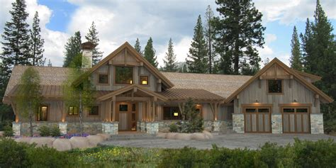 Timber Frame Cottage Plans Canada