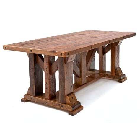 Timber Frame Dining Table Plans