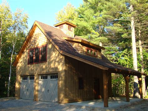 Timber Frame Garage Apartment Plans