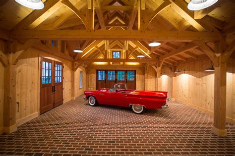 Timber Frame Garage Designs
