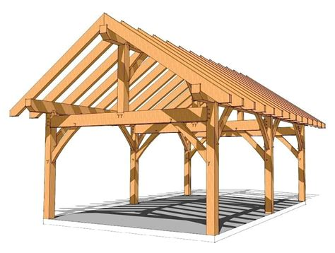 Timber Frame Garage Plans Free