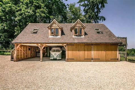 Timber Frame Garage With Room Above Plans