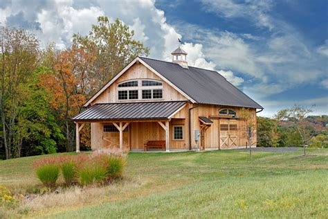 Timber Frame Home Plans With Garage