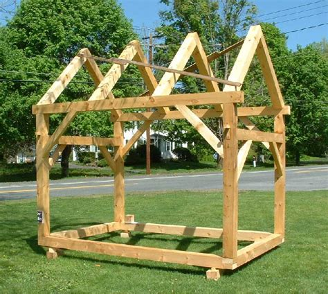 Timber Frame Shed Plans Easy