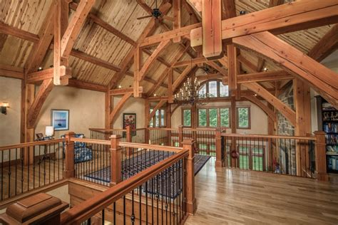 Timber Home Plans With Loft