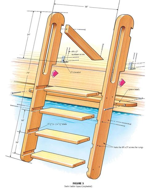 Timber Ladder Plans