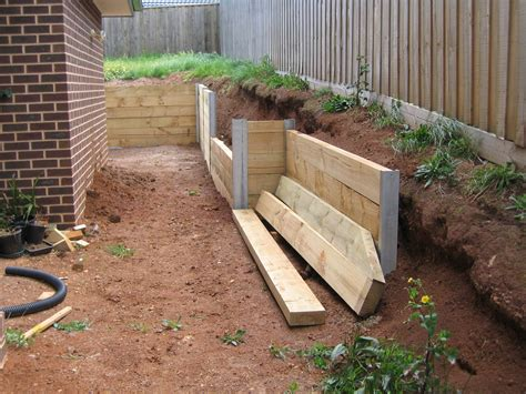Timber Retaining Wall Construction Methods